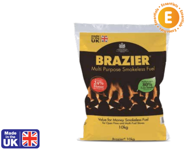 Brazier smokeless coal 10kg bag