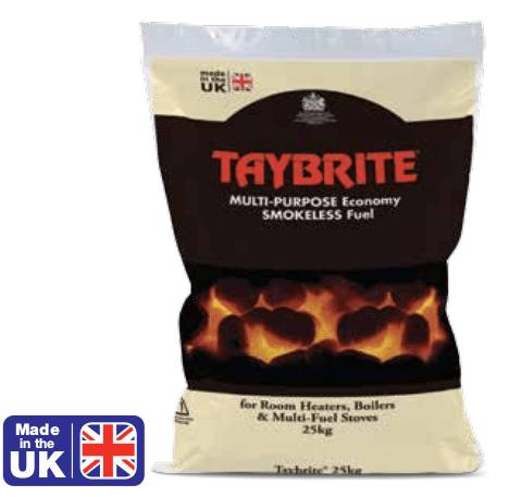 Taybrite smokeless fuel