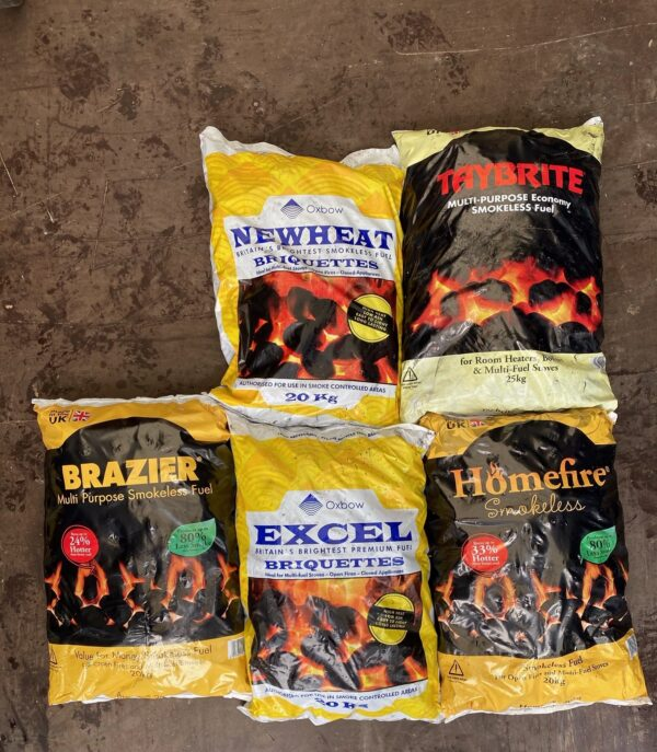 Smokeless Fuel Pick-n-Mix County Logs and Coal